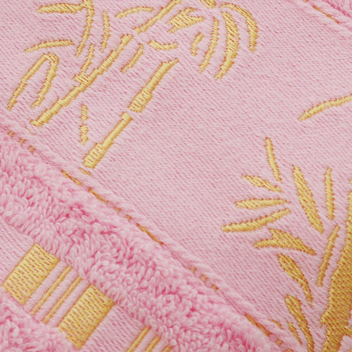 "Полотенце Mariposa ""Bamboo"", цвет: светло-розовый, 50 х 90 см"