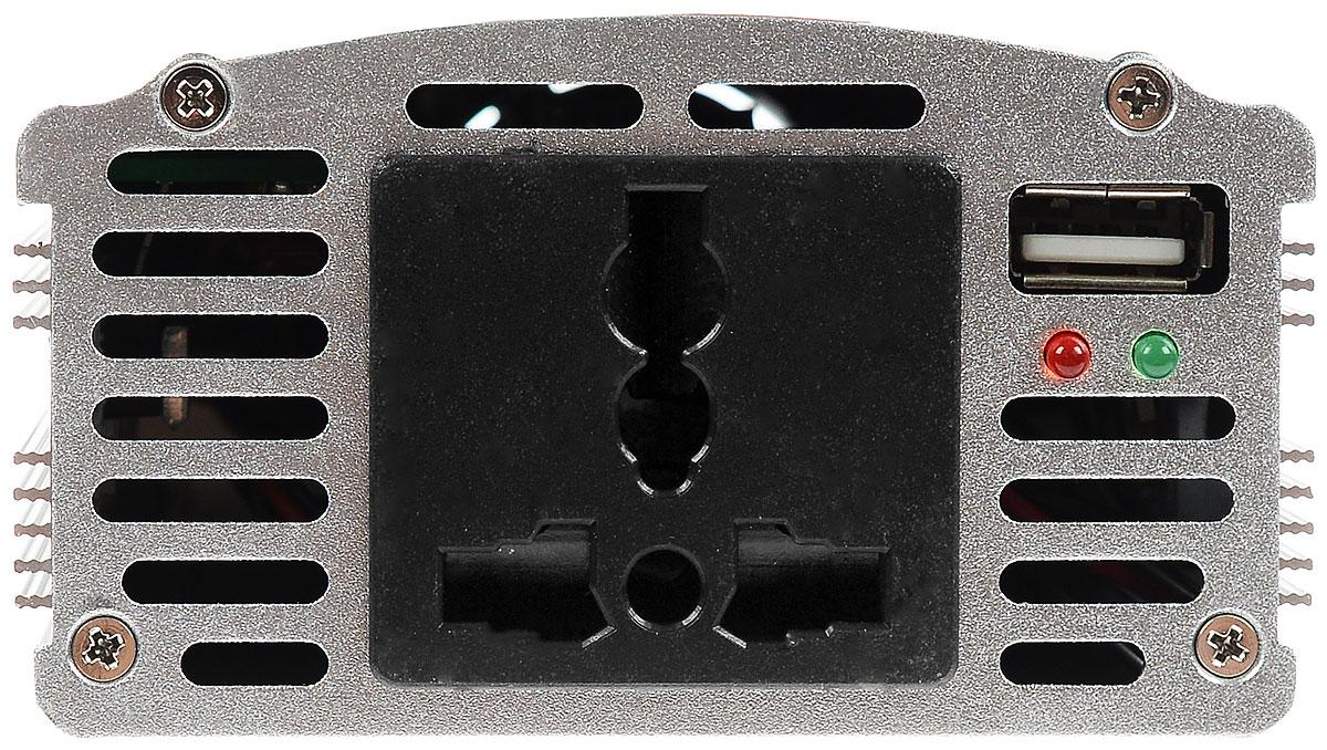 Автомобильный инвертор 12/220V AVS IN-400W ( A80684S )