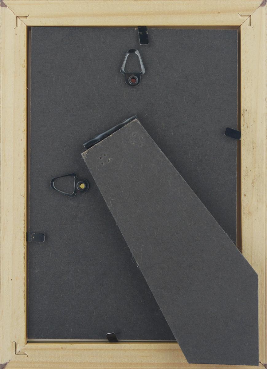 """Фоторамка Vertigo """"Toscana"""", цвет: темно-коричневый, 10 х 15 см"""