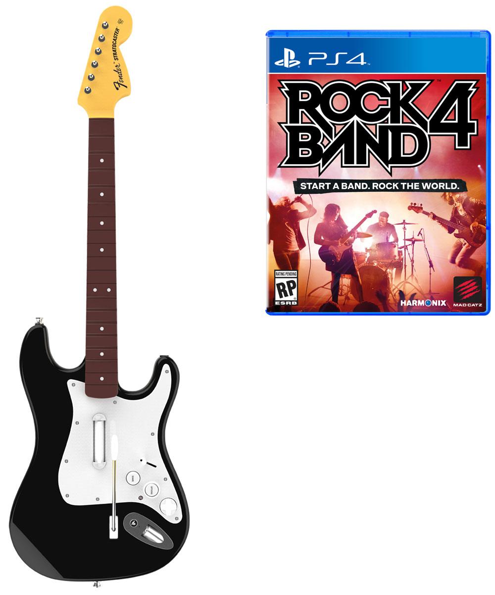 Mad Catz Rock Band 4 Fender Stratocaster Bundle