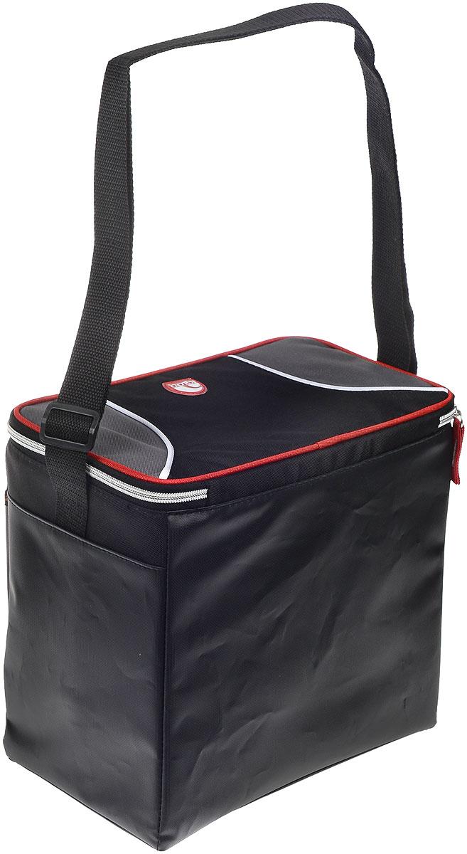 """Сумка-термос Igloo """"Hard Liner Cooler"""", черный, серый, красный, 12 л ( 159202_2 )"""