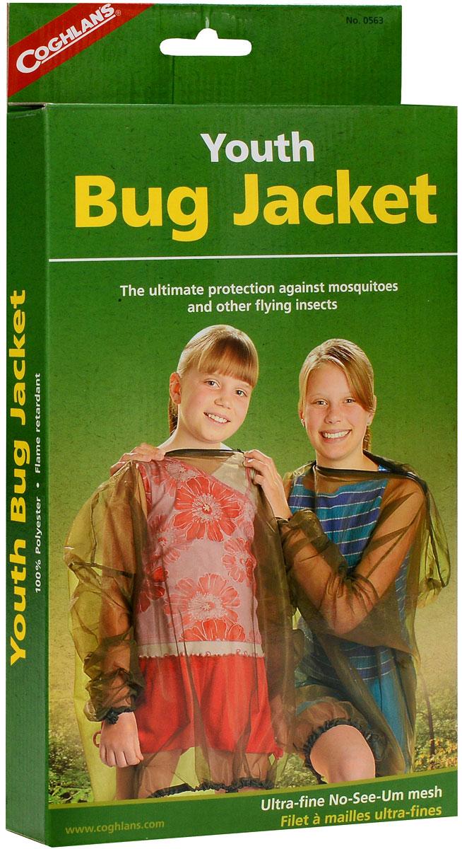 """Куртка против насекомых детская """"Coghlan's"""", цвет: зеленый. Размер: S (38-40)"""