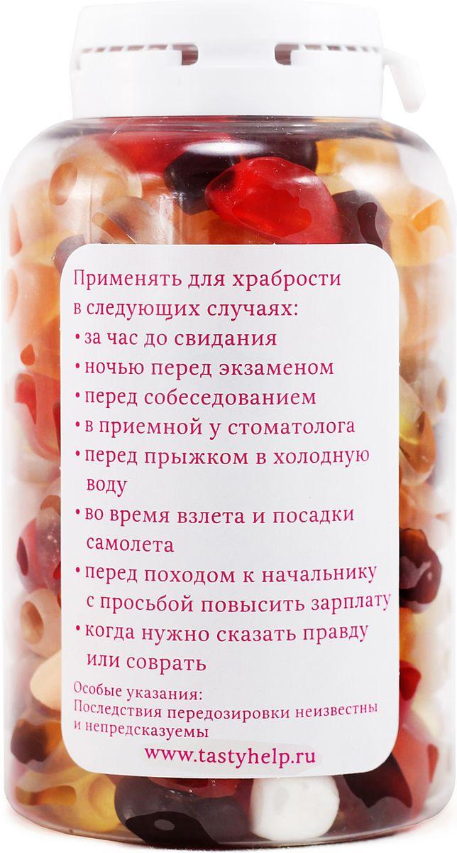 """Конфеты Вкусная помощь """"Для храбрости"""", 250 мл"""
