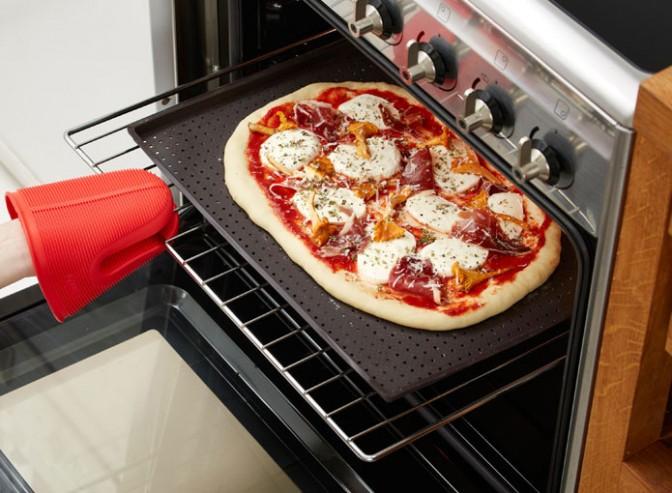 Коврик для выпечки пиццы 40 см (цвет :коричневый) 0231241М10M067