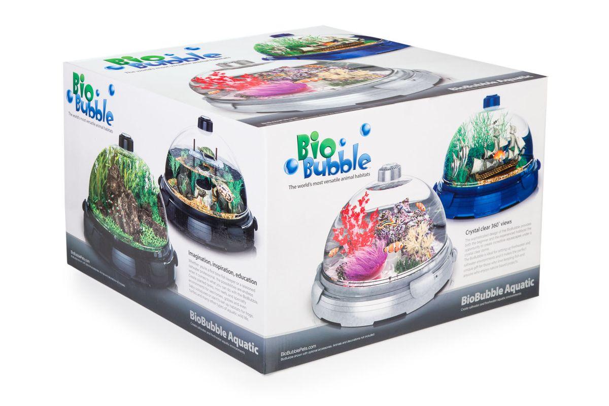 """Комплект-аквариум """"BioBubble Aquarium Bundle"""", черный (для пресной и морской среды)"""