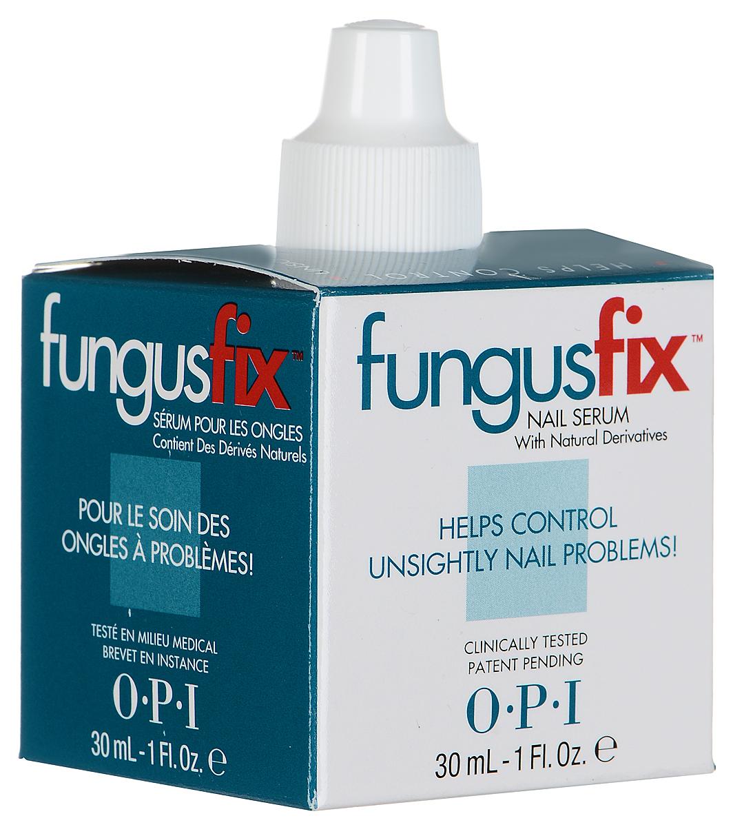 OPI Сыворотка для ногтей FungusFix, восстанавливающая, с натуральными компонентами, 30 мл