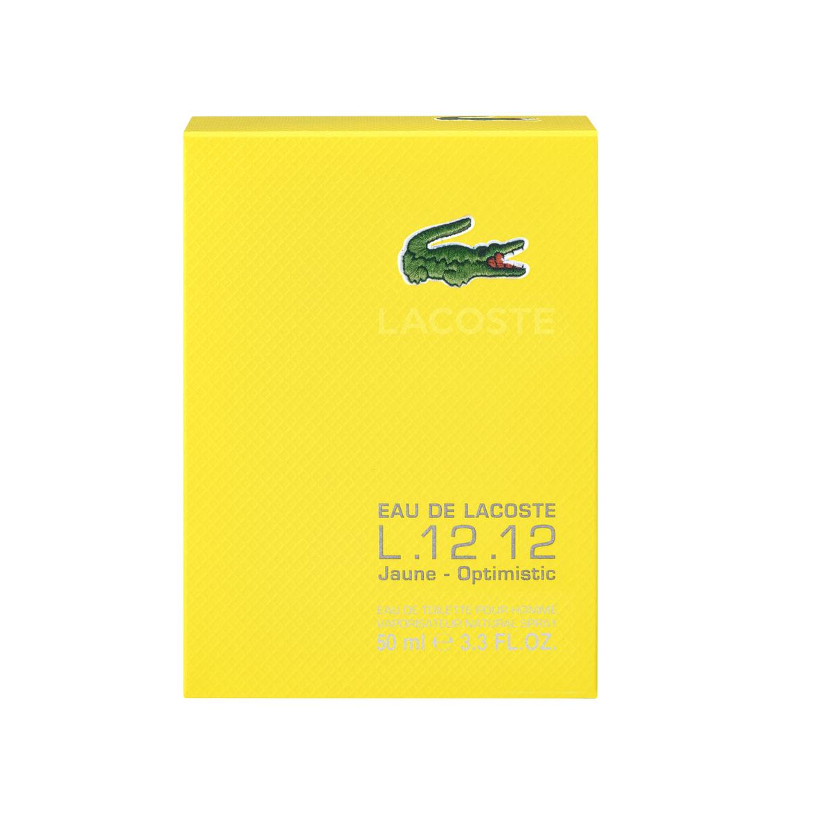 Lacoste Туалетная вода Eau De Lacoste L.12.12 Jaune, мужская, 50 мл