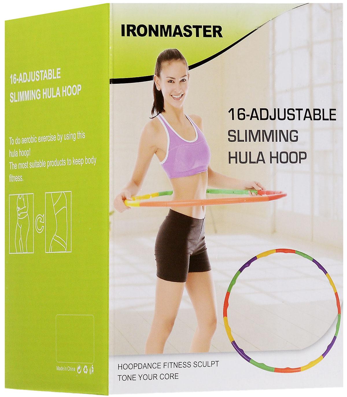 """Обруч гимнастический """"Ironmaster"""", диаметр 80 см"""