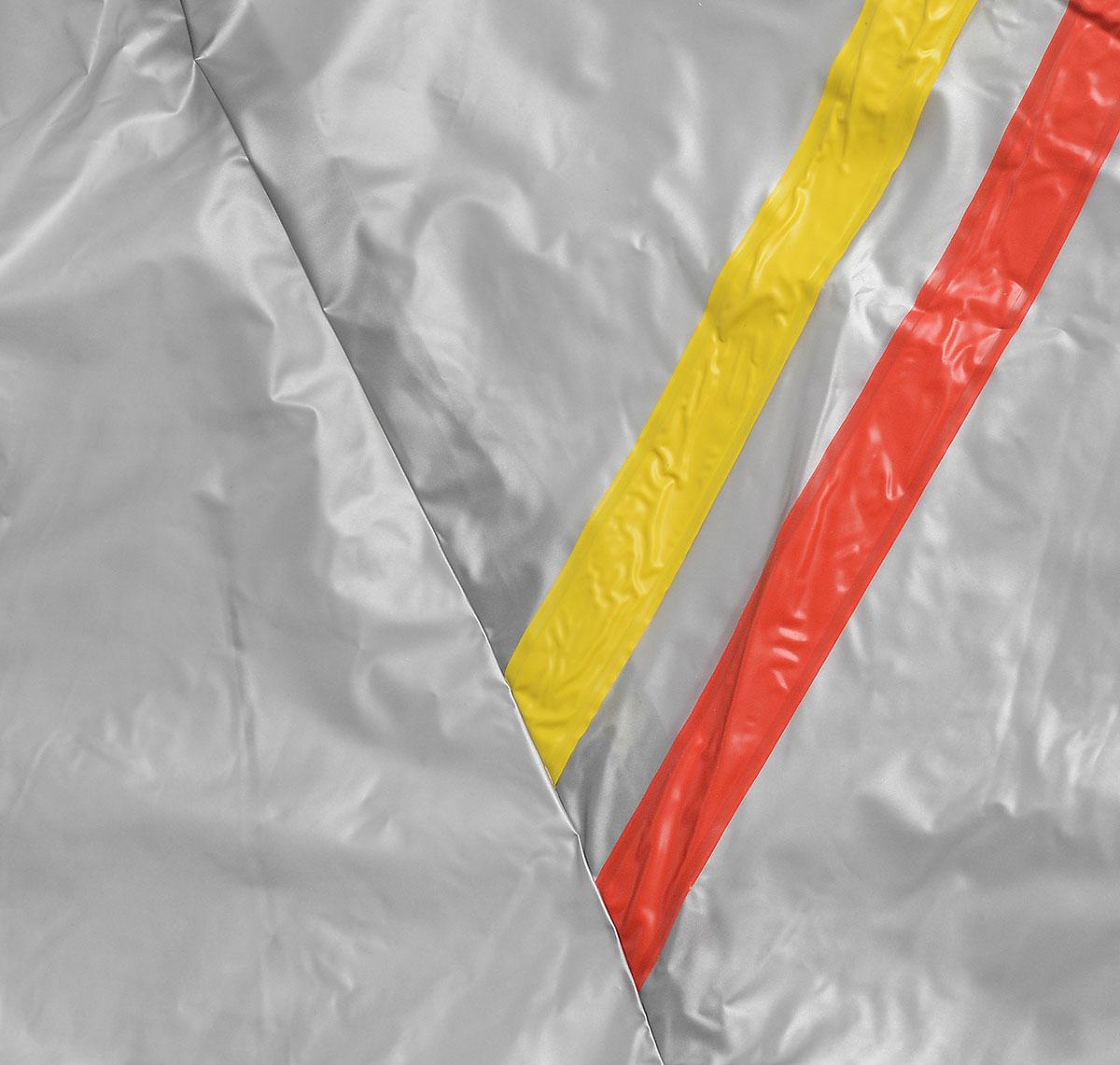 "Костюм сауна ""Ironmaster"", цвет: серый, желтый. Размер L"