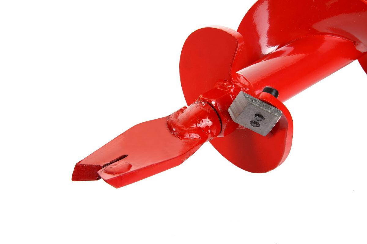 """Шнек для грунта Hammer Flex 210-010 4\'\' (100мм)X 800мм, к мотобуру с валом 1"""" ( 68295 )"""