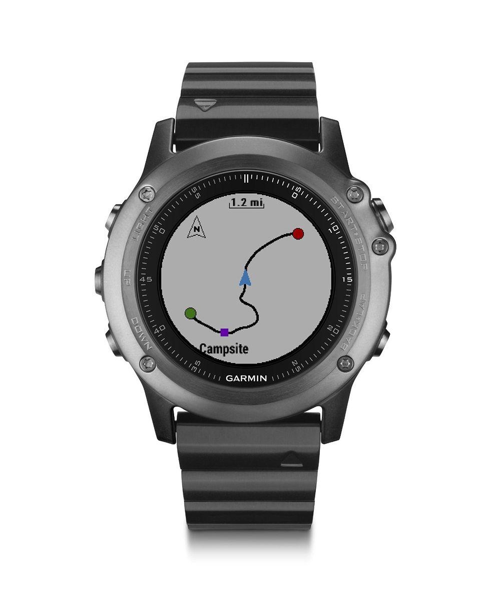 Смарт часы Garmin fenix 3 Sapphire с металлическим браслетом, HRM - Run (010-01338-26)