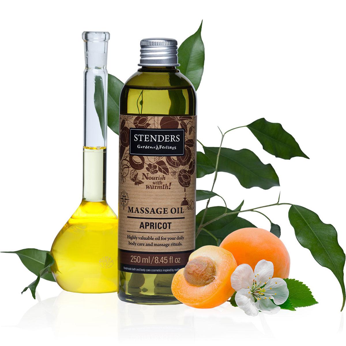 Stenders Массажное масло Южный абрикос, 250 мл