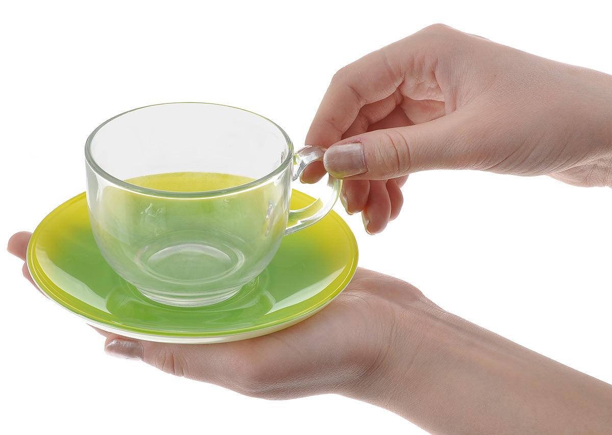 """Набор чайный Luminarc """"Fizz Mint"""", 12 предметов"""