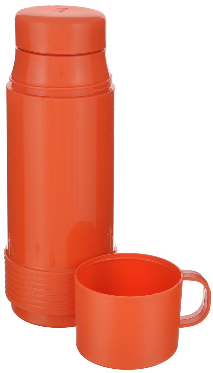 """Термос """"Valira"""", цвет: оранжевый, 0,5 л"""