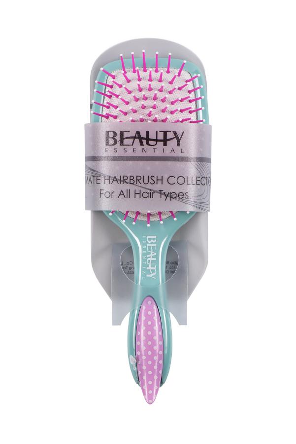 Beauty Essential Расческа с заколкой, мятно-розовая