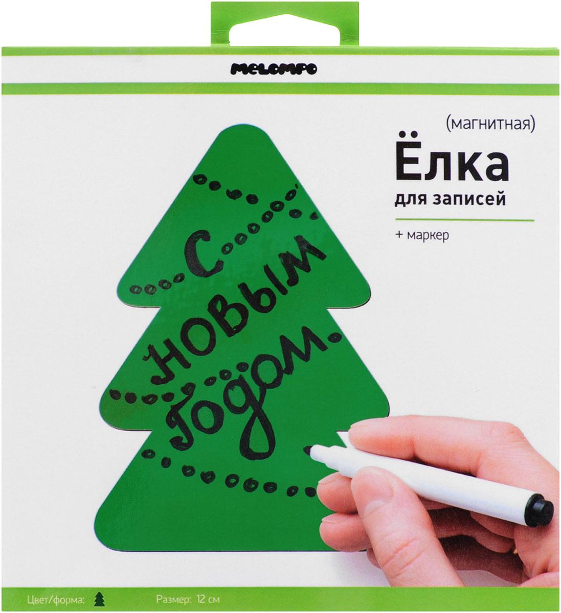 """Памятка маркерная Melompo """"Елка"""", 12 см х 12 см"""