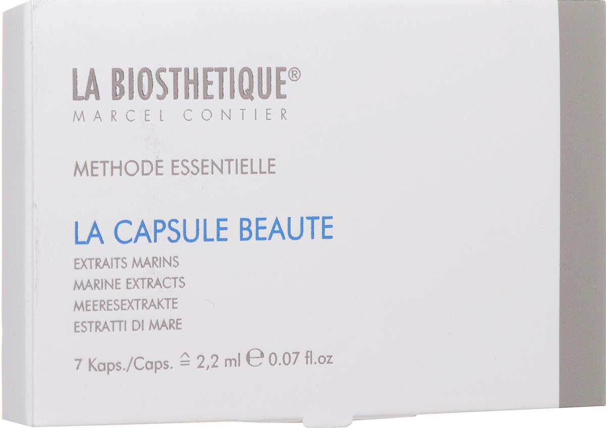 La Biosthetique Интенсивный 7-дневный комплекс Methode Essentialle красоты с Морскими Водорослями 7шт
