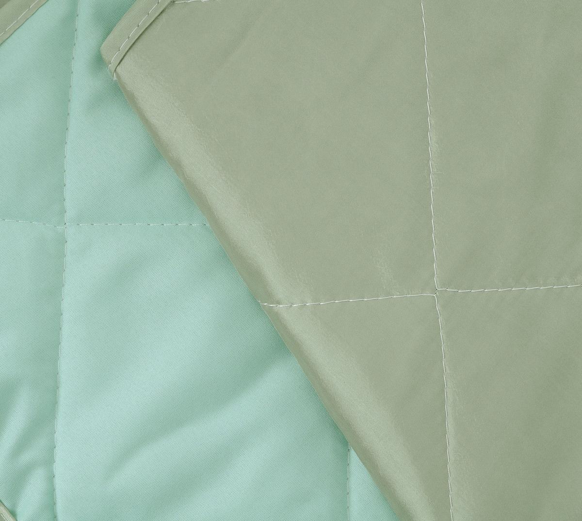 """Покрывало стеганое """"Диана"""", цвет: светло-зеленый, 210 х 240 см"""