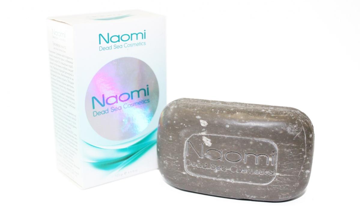 Naomi Мыло грязевое с минералами Мертвого моря, 125 г