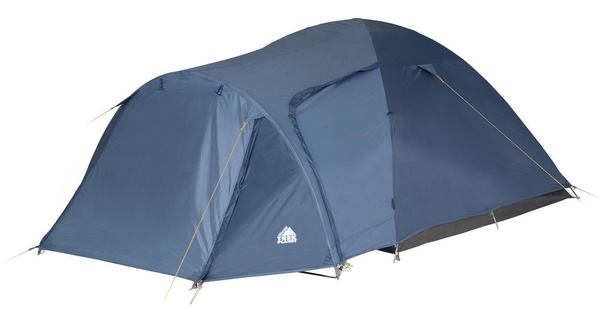 """Палатка четырехместная Trek Planet """"Lima 4"""", цвет: синий ( 70182(н) )"""