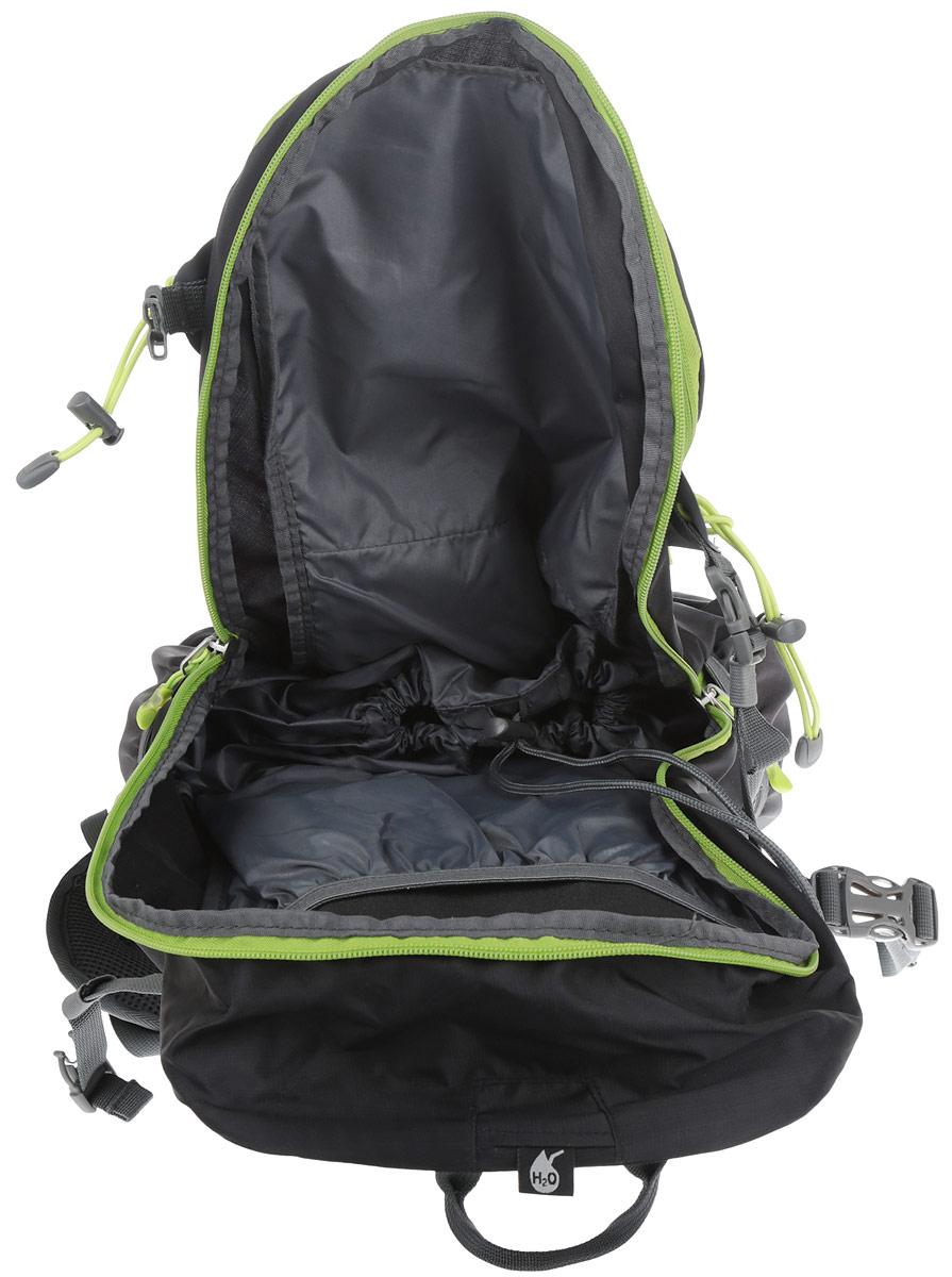 """Рюкзак туристический Husky """"Scampy 35"""", цвет: черный, зеленый. УТ-000055302"""