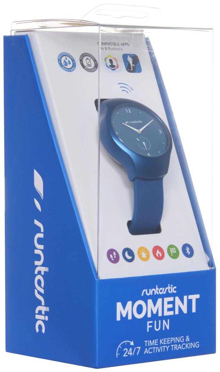 """Часы наручные Runtastic """"Moment Fun"""", спортивные, цвет: синий. RNT_RUNMOFU2"""
