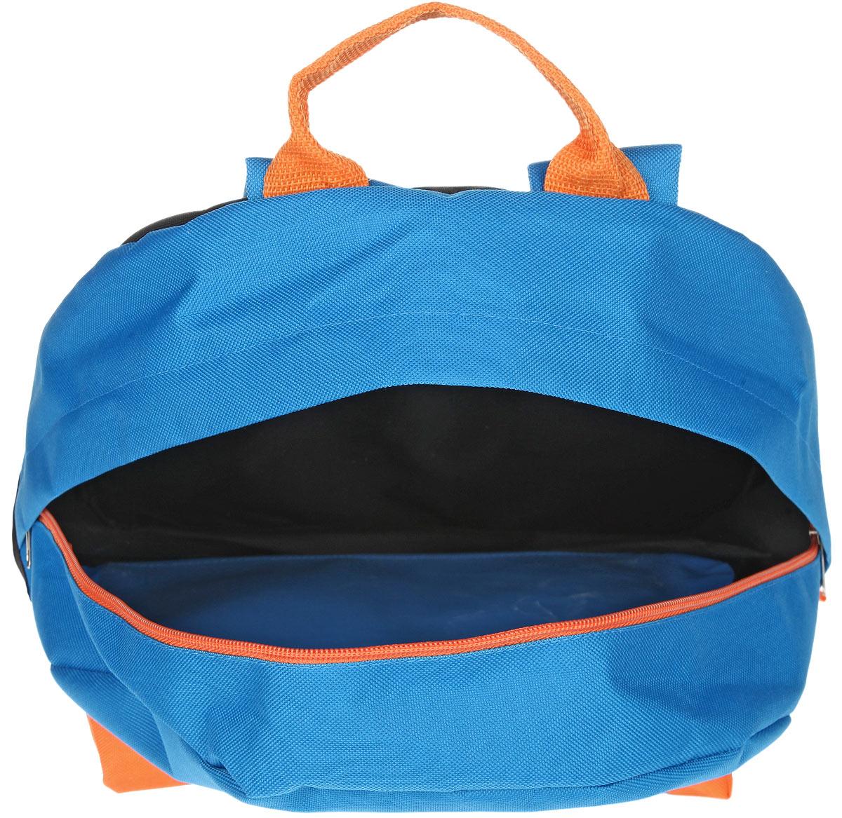 Рюкзак Antan, цвет: черный, голубой, оранжевый. 6-7 ( 6-7 )