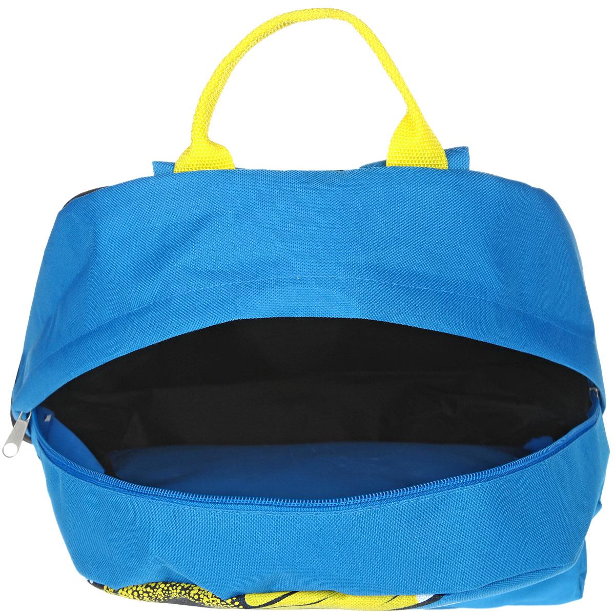 Рюкзак женский Antan, цвет: голубой, черный, желтый. 6-7 ( 6-7 )