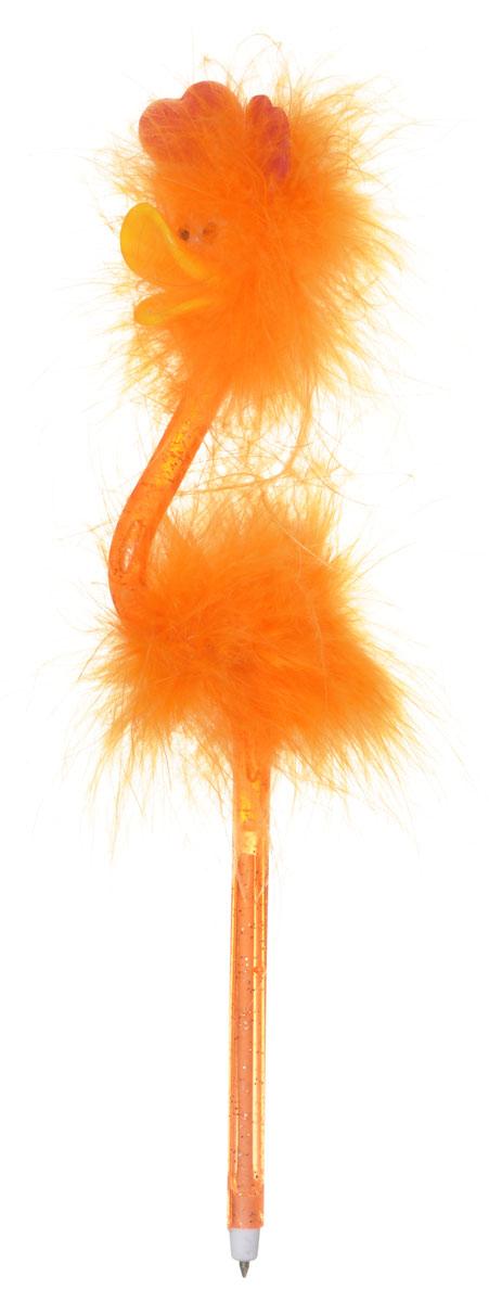 Centrum Ручка-игрушка Flamingo с подставкой цвет оранжевый