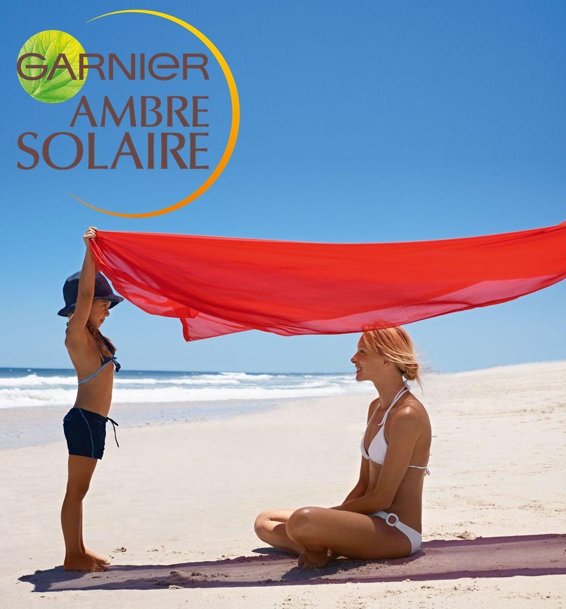 Garnier Ambre Solaire Сухой солнцезащитный спрей для тела Эксперт Защита +Инфракрасные лучи, водостойкий, гипоаллергенный, для светлой, чувствительной кожи, SPF 50+, 200 мл