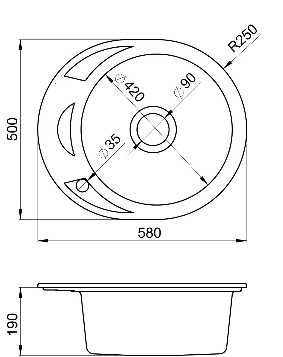 Мойка Weissgauff Ascot 575 Eco Granit, цвет: бежевый, 57,5 х 44,5 х 19,0 см306308Гранитные мойки Weissgauff Eco Granit – классическая коллекция моек, изготовленных из специально подобранных композитных материалов , содержащих оптимальное сочетание 80% каменной массы высокого качества и 20% связующих материалов. Оригинальный и функциональный дизайн - технология изготовления позволяет создавать любые цвета и формы, оптимальные для современных кухонь. Мойки Weissgauff легко подобрать к интерьеру любой кухни, для разных цветов и форм столешниц Влагостойкость - отталкивание влаги – одна из примечательных особенностей моек из искусственного камня за счет связующих композитных материалов, которые продлевают их срок службы и способствуют сохранению первоначального вида Термостойкость - подвергая мойки воздействию высоких температур, например, различными горячими жидкостями, будьте уверенны, что мойки Weissgauff – эталон стойкости и качества, так как они устойчивы к перепаду температур. Специальный состав моек Weisgauff избавляет от проблемы...