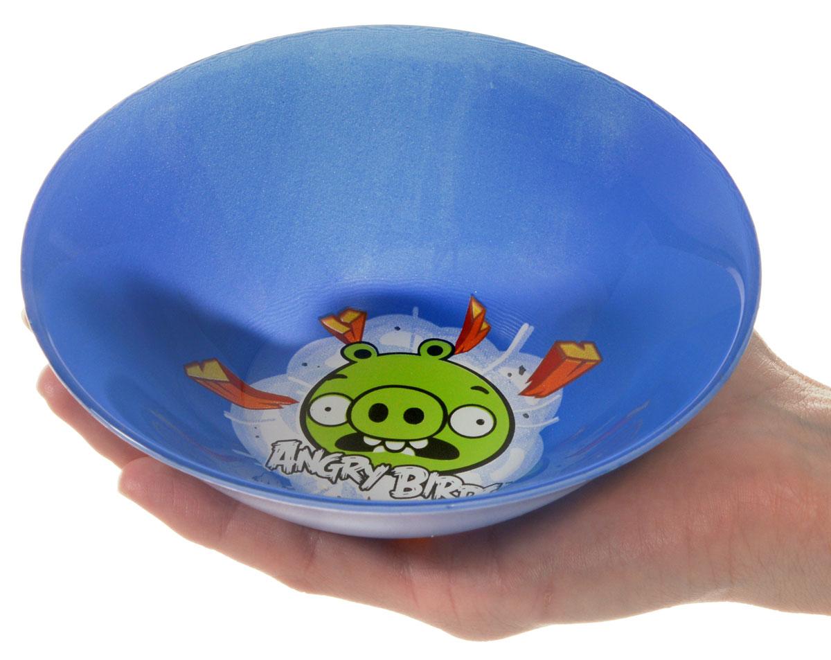 Angry Birds Салатник детский цвет синий диаметр 14 см