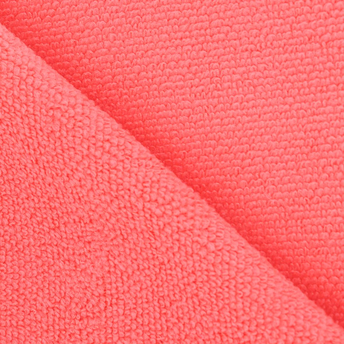 """Салфетка для мебели и полированных поверхностей """"Eva"""", цвет: коралловый, 35 х 30 см"""