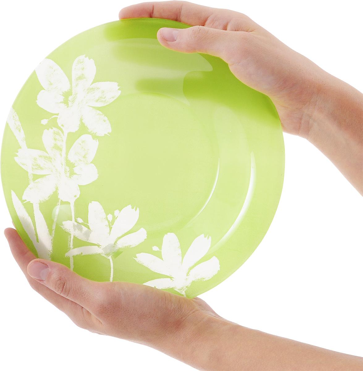 """Тарелка глубокая Luminarc """"Cotton Flower"""", диаметр 21 см"""