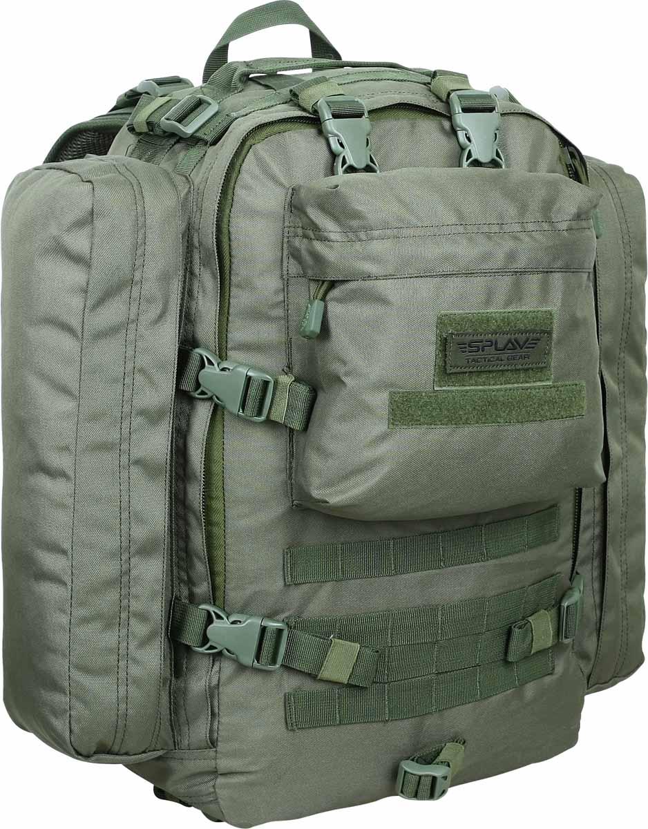 Ранец десантный Сплав, цвет: оливковый. 40 л