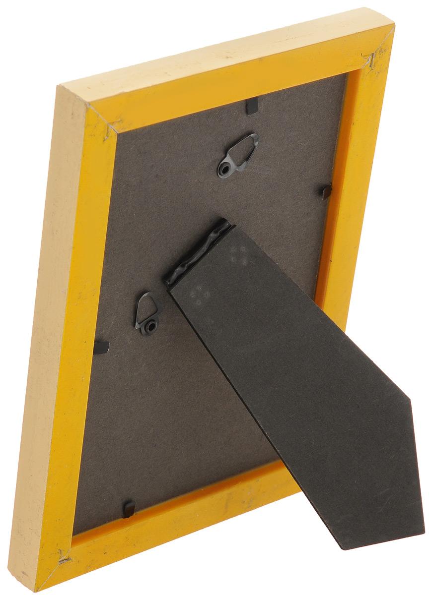 """Фоторамка """"Vertigo"""", цвет: золотистый, 10 х 15 см. 33909/WF-1038/197"""