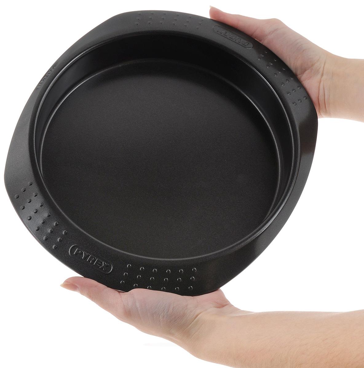 """Форма для выпечки Pyrex """"Metal Classic"""", с антипригарным покрытием, диаметр 20 см"""