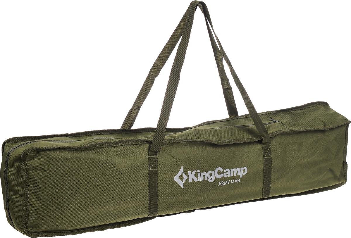 """Кровать складная KingCamp """"Delux Army"""" для кемпинга"""