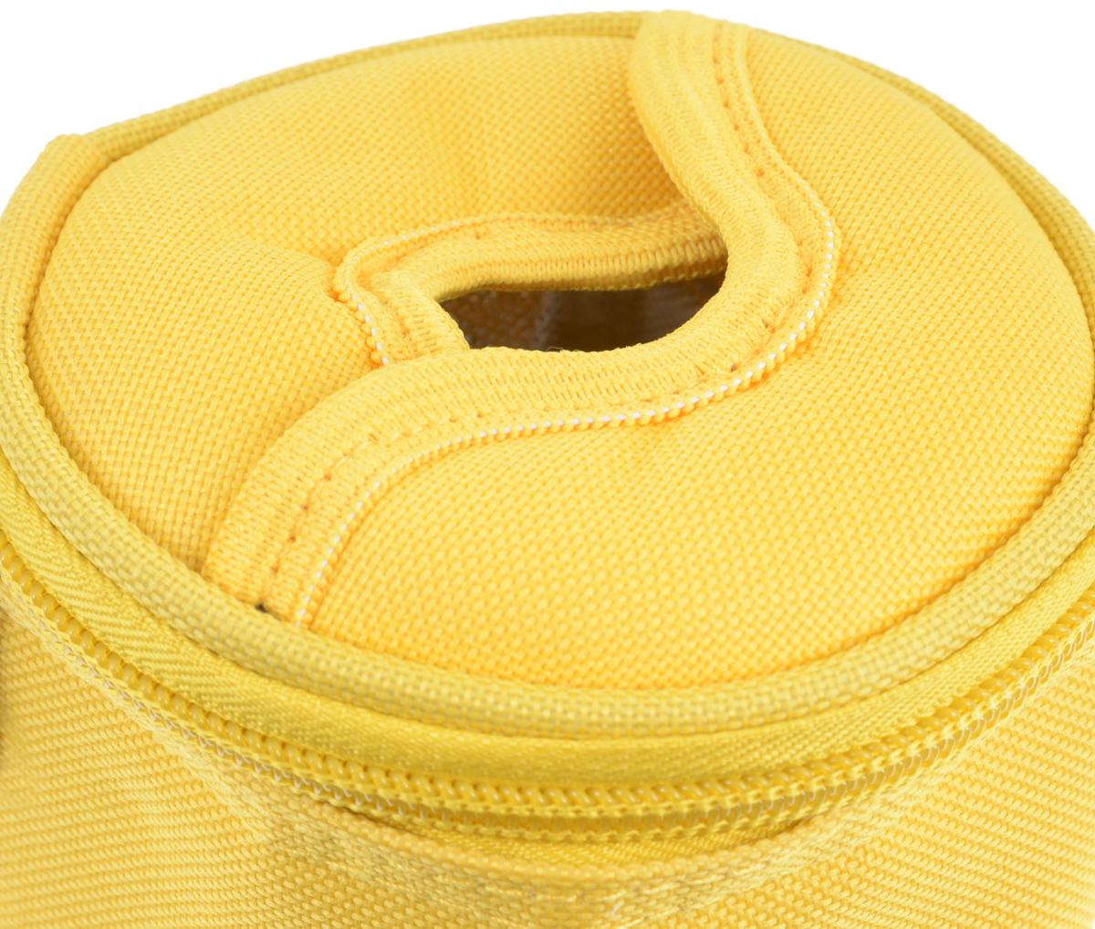 "Сумка-холодильник Tescoma ""Coolbag"", цвет: желтый, 10,5 х 10,5 х 25 см ( 892312_желтый )"