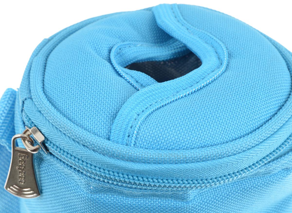 """Сумка-холодильник Tescoma """"Coolbag"""", цвет: голубой, 10,5 х 10,5 х 25 см ( 892312_голубой )"""
