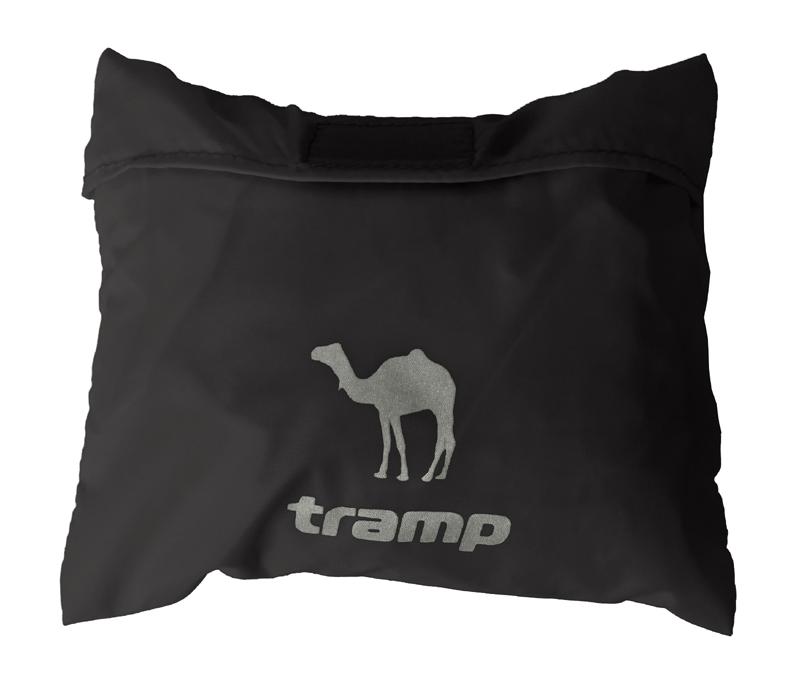 Накидка на рюкзак Tramp, цвет: черный. 70-100л