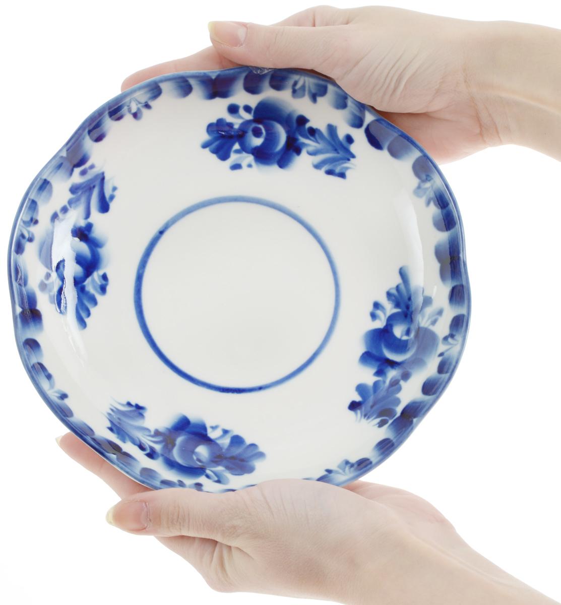 "Блюдце ""Улыбка"", диаметр 17,5 см. 993016901"