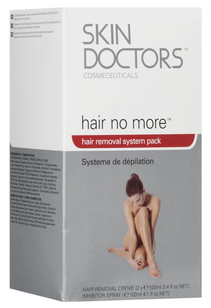 Skin Doctors Набор для удаления волос Hair No More Pack: крем и спрей
