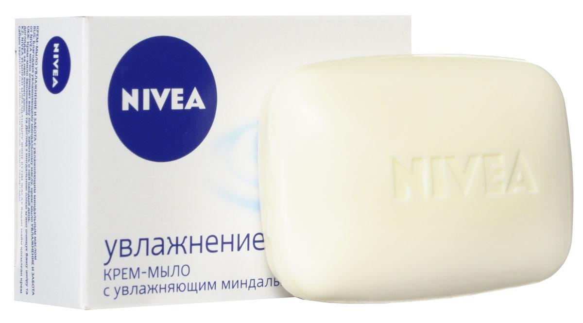 NIVEA Крем-мыло Увлажнение и забота 100 гр (Nivea)