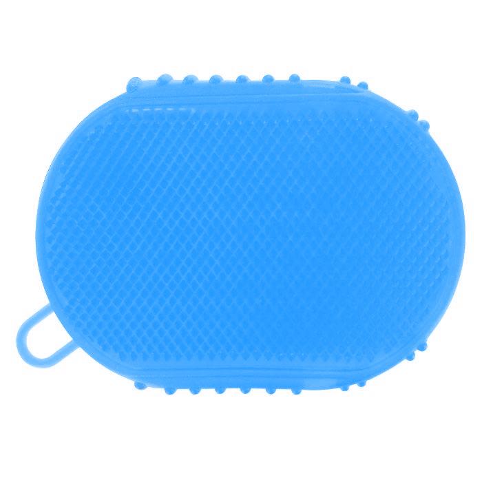 Массажер-варежка Дельтатерм Варюша, цвет: синий