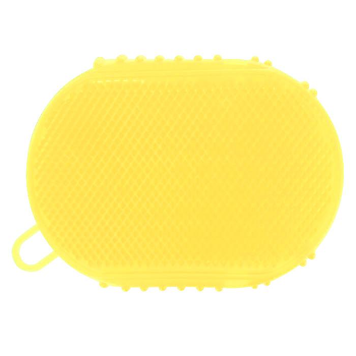 Массажер-варежка Дельтатерм Варюша, цвет: желтый