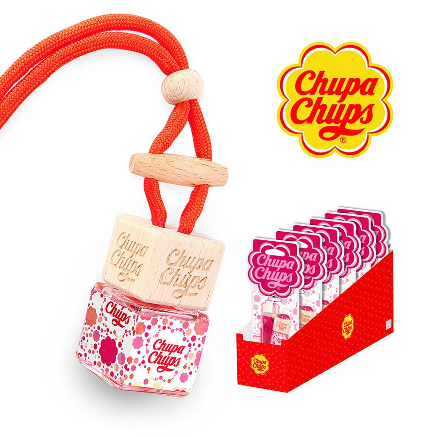 "Ароматизатор воздуха Chupa Chups ""Вишня"", подвесной, флакон, 5 мл"