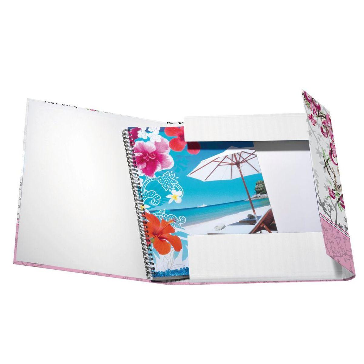 Herlitz Папка с резинкой Ladylike Bloom XL формат А4+