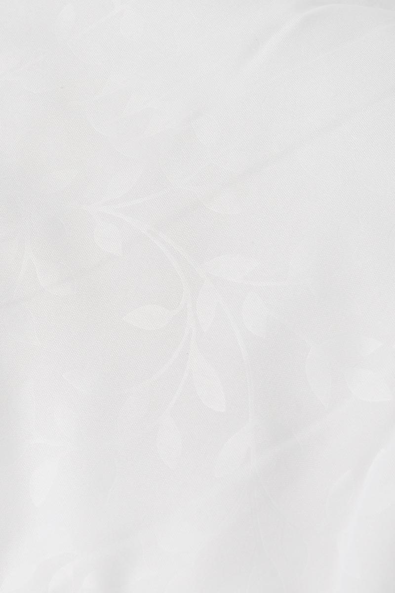 """Одеяло теплое Легкие сны """"Тропикана"""", наполнитель: бамбуковое волокно, цвет: белый, зеленый, 140 х 205 см"""