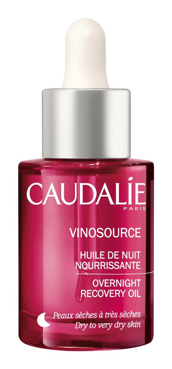 Caudalie Ночное восстанавливающее масло Vinosource для лица 30 мл